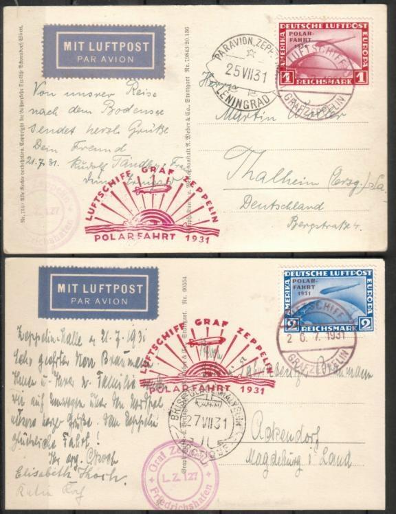 50 Jahre Polarfahrt Luftschiff Graf Zeppelin Besuch10