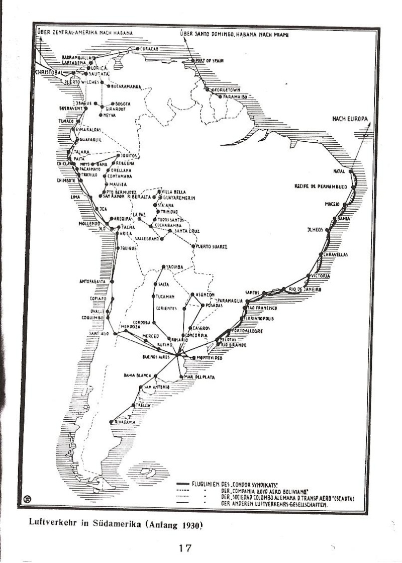 Condor-Flugpostmarken auf Belegen der Südamerikafahrt 1930 Condor10