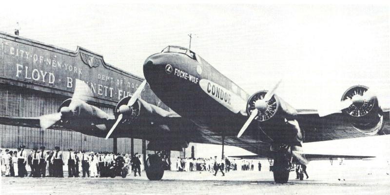 Zeppelinpost des LZ 127 - Seite 2 Focke-10