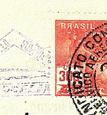 """Südamerikafahrt 1930 (Rundfahrt-) Post nach Friedrichshafen"""" - Seite 3 Gappe-11"""