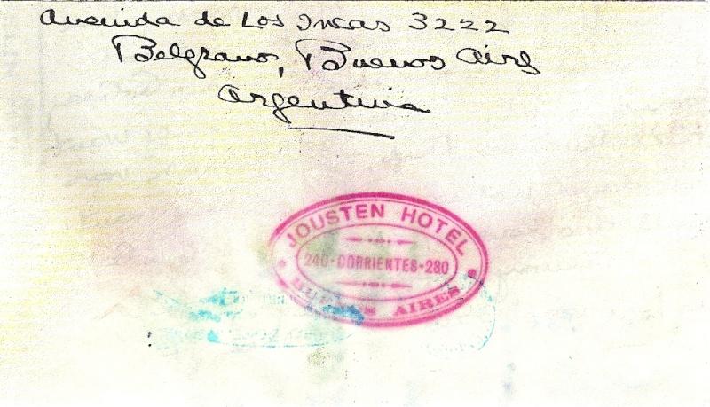 """Südamerikafahrt 1930 (Rundfahrt-) Post nach Friedrichshafen"""" - Seite 3 Gappe-12"""