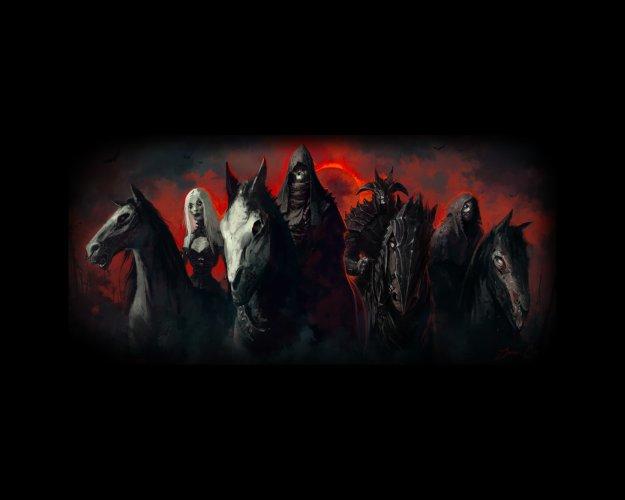 Les Cavaliers de l'Apocalypse dans la Bible 23904611