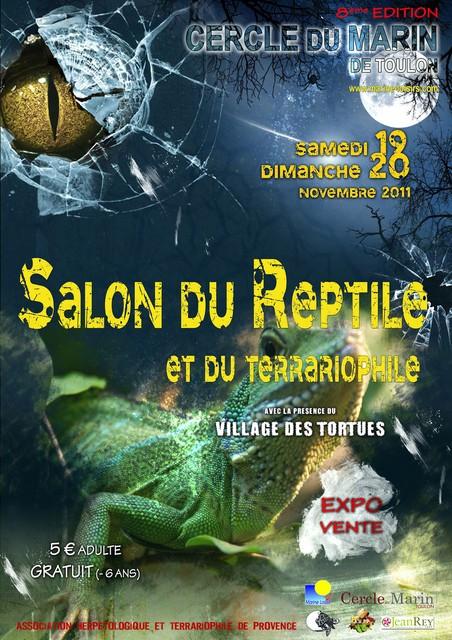 Salon du reptile de toulon ev nement nimo - Poste jean moulin salon de provence ...