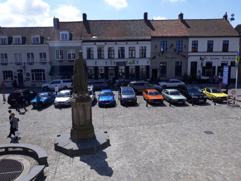 Rassemblement du club renault 15/17 des Pays Bas à Bruges. 20190536