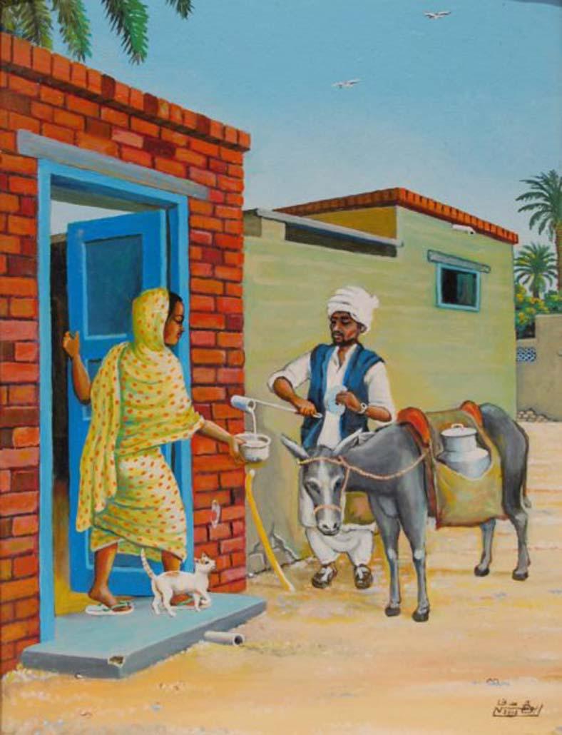 لوحات سودانية جميلة  22539910