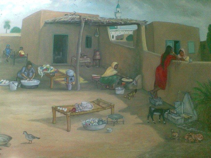 لوحات سودانية جميلة  22723410