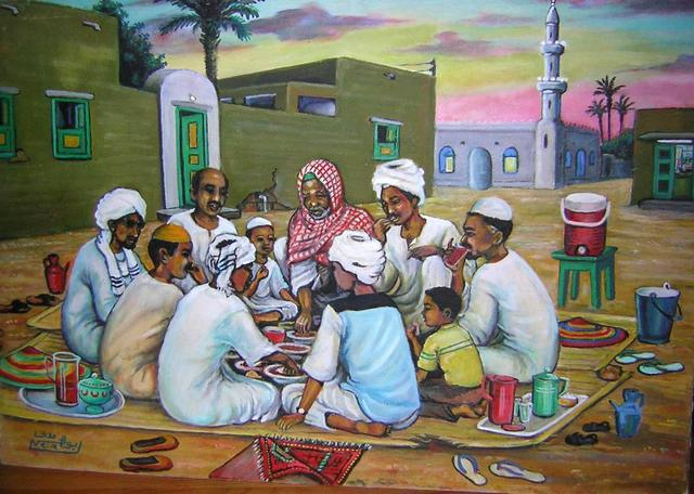 لوحات سودانية جميلة  22974610