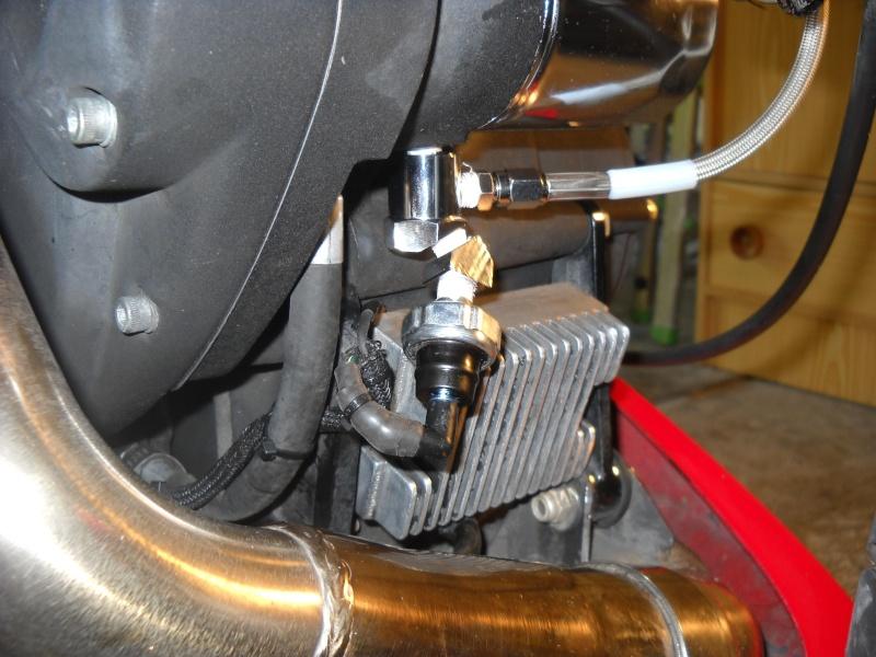 Manomètre pression d'huile XB Oil_gu11