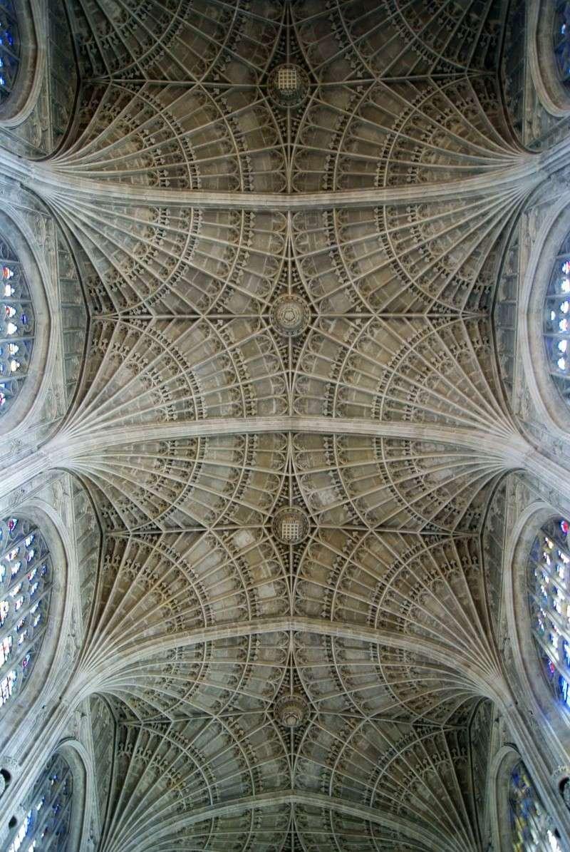 plafond de la chapelle de king's college Dsc05110