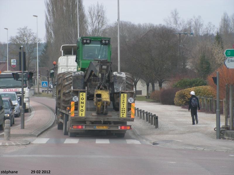 Transports de tracteurs forestier Le_29_24
