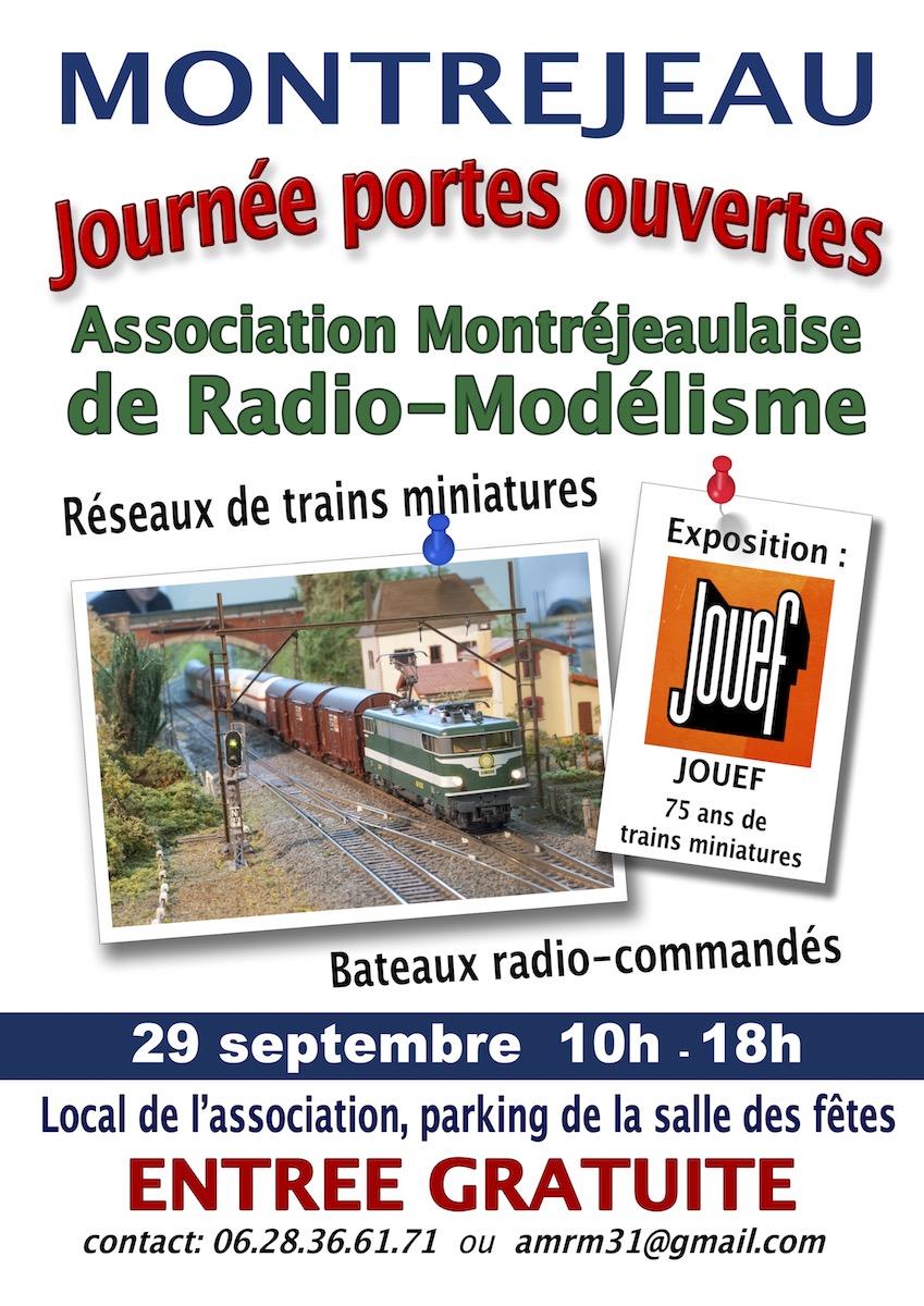 Montréjeau - Portes Ouvertes AMRM - 29 septembre 2019 Affich11