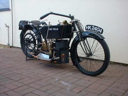 Мотоцикл с паровым двигателем 0834fe10
