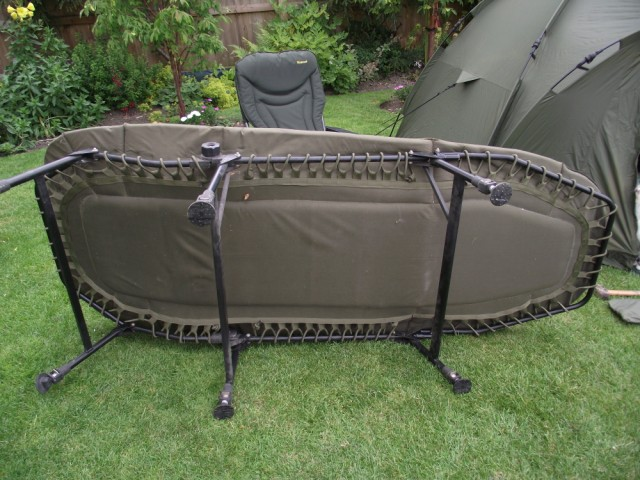 Fox Ground Tent: Easy Dome Review Bed_410