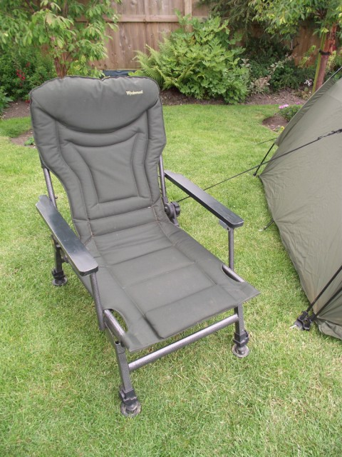 Fox Ground Tent: Easy Dome Review Chair_10