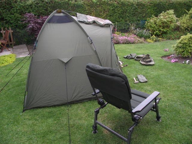 Fox Ground Tent: Easy Dome Review Chair_11
