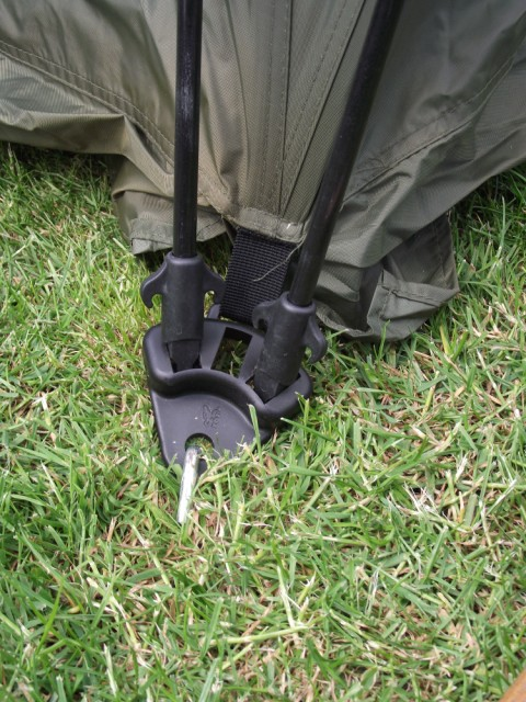 Fox Ground Tent: Easy Dome Review Joint_16