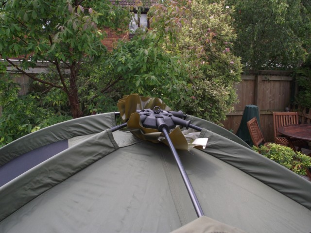 Fox Ground Tent: Easy Dome Review Joint_17