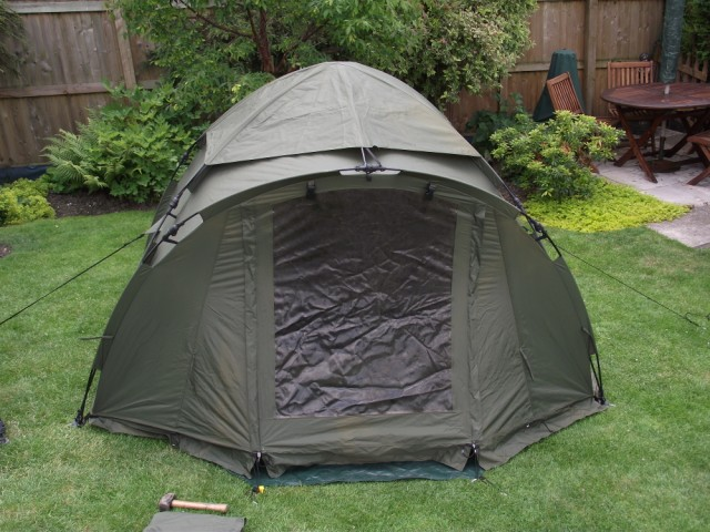 Fox Ground Tent: Easy Dome Review Tent_112