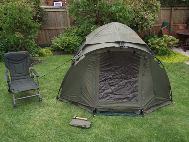Fox Ground Tent: Easy Dome Review Tent_114