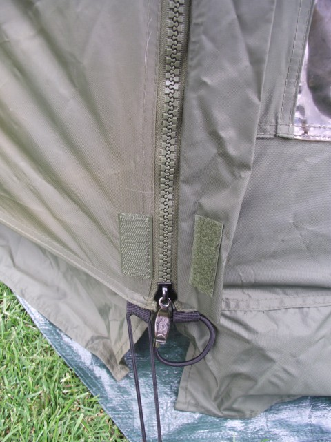 Fox Ground Tent: Easy Dome Review Zip_110