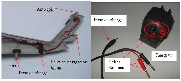 ELECTRIFICATION d'une maquette d'HELICO par YVESMAQUETTES Helico28