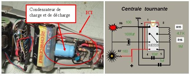 ELECTRIFICATION d'une maquette d'HELICO par YVESMAQUETTES Helico31