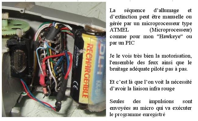 ELECTRIFICATION d'une maquette d'HELICO par YVESMAQUETTES Helico33