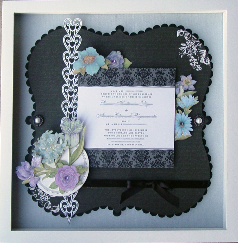 Wedding Invitation Collages Floral10