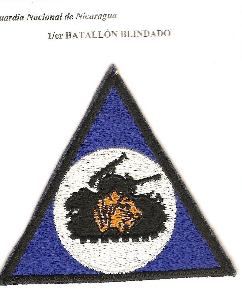 Nicaraguan National Guard Patches 00111