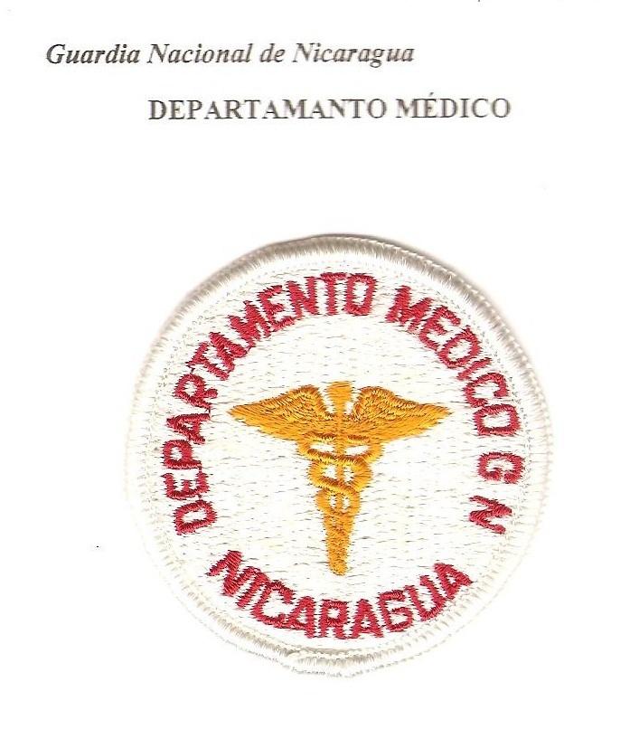 Nicaraguan National Guard Patches 00410