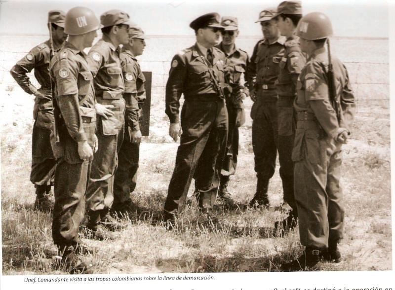 """Colombian """"Batallón de Infantería de Colombia"""" in Korea. Batcol10"""