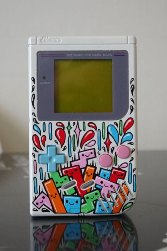 -= CUSTOM GAME BOY (Fat, Pocket et Color) =-  290-un10