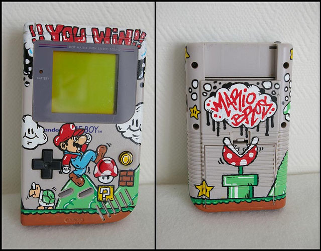-= CUSTOM GAME BOY (Fat, Pocket et Color) =-  Consol10