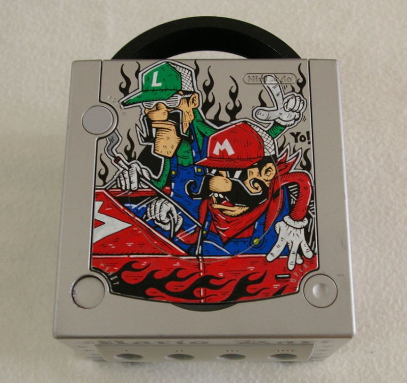 -= CUSTOM GAMECUBE =-  Gamecu11