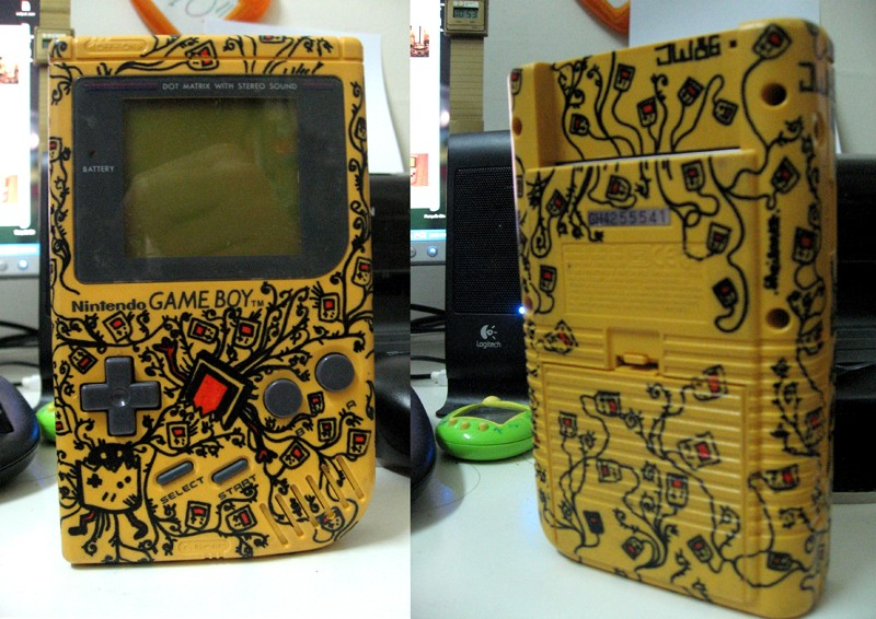 -= CUSTOM GAME BOY (Fat, Pocket et Color) =-  Gb_yel10