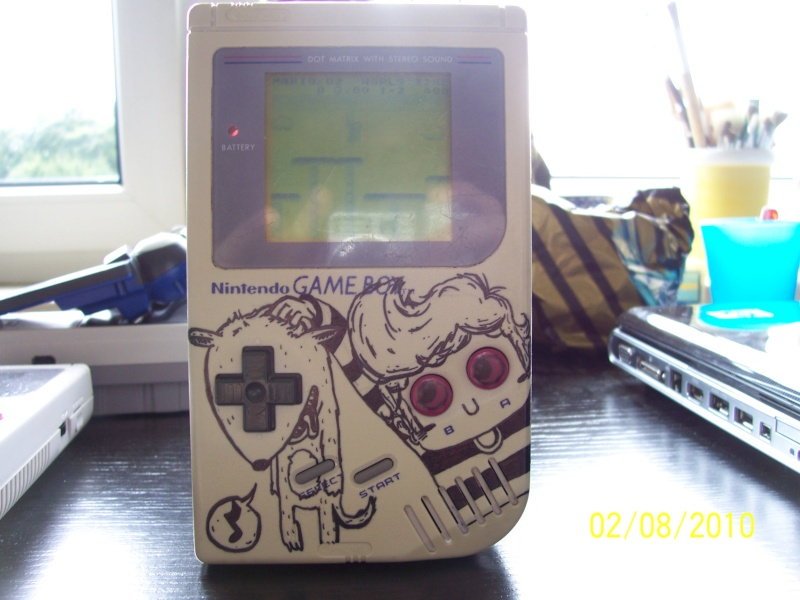 -= CUSTOM GAME BOY (Fat, Pocket et Color) =-  Holyko10