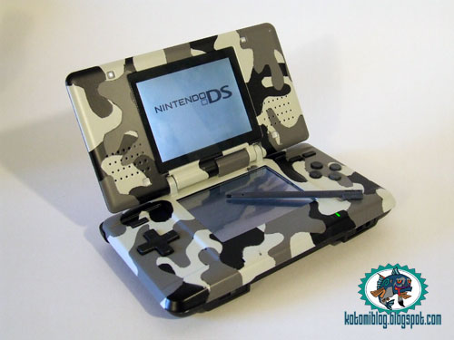 -= CUSTOM NINTENDO DS Fat=-  Milita10