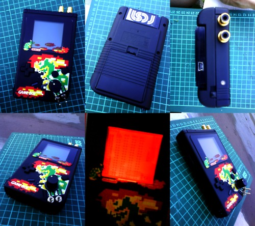 -= CUSTOM GAME BOY (Fat, Pocket et Color) =-  Tumblr21