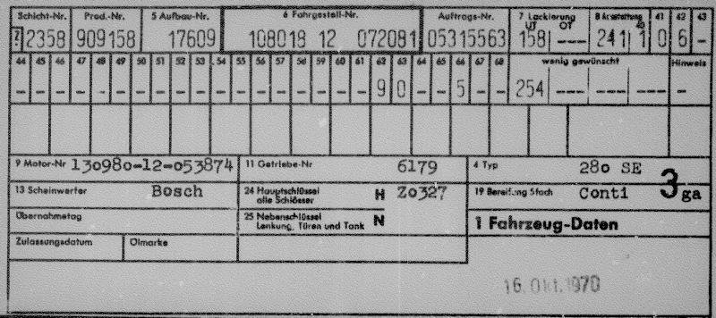 280 SE - 1971 - Page 2 Datent10
