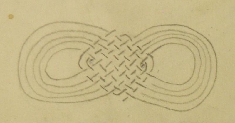 Leather braiding to bind on stirrup Leathe10