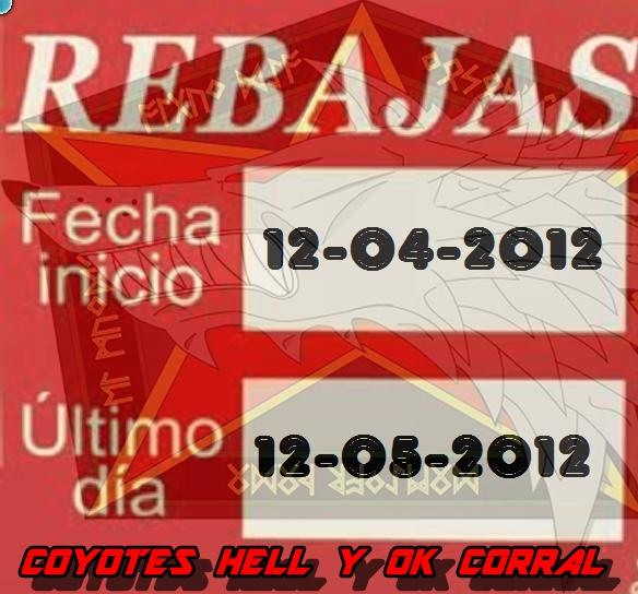 Rebajas OK Corral Promoc10