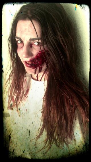 I Evento temático, El Bosque de los muertos, 30.06.12, en El Bosque, Galapagar Zombie12