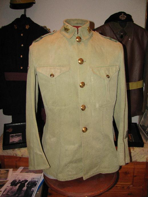Essex Regiment (Tank) Khaki Drill Jacket Ert_kd10