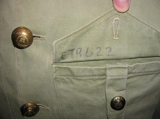 Essex Regiment (Tank) Khaki Drill Jacket Ert_kd13