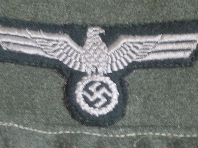 Vareuse M36 allemande comment les identifier.!!!! Feldbl13