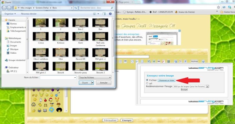 """Comment faire une Candidature, faire des """" screens """" et rajouter des images ? 2_bmp11"""
