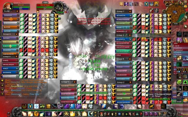 What 40 man raids do to my UI. Wowscr24
