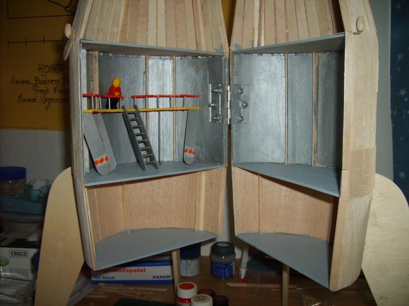 Spielrakete aus Holz Sd531024
