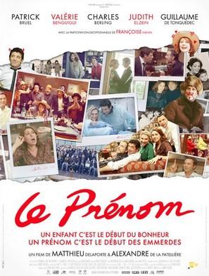 Le Prénom (le film tiré de la pièce de théâtre) Affich12
