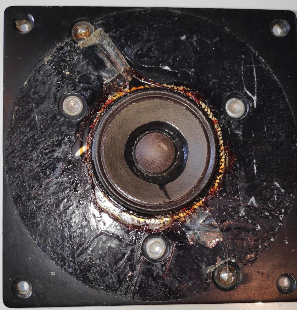 Remplacer l'anneau en mousse de tweeters JBL LE25 (enceinte 4311 Control Monitor) Jbl-le10
